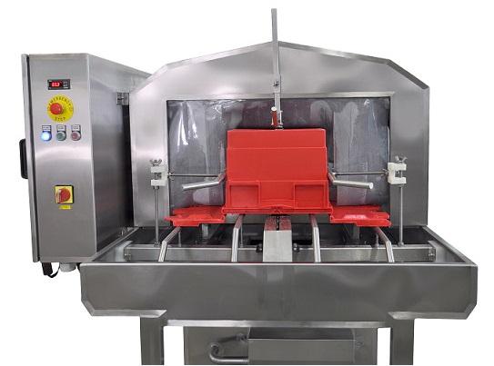 waschmaschine f r kisten mit klappbarem deckel mit abblasung. Black Bedroom Furniture Sets. Home Design Ideas
